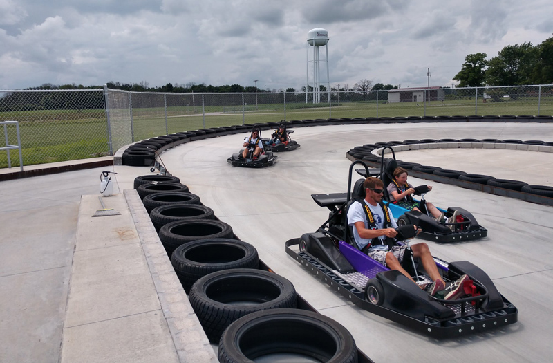 Go Karts Indianapolis >> New Castle Motorsports Park New Castle Raceway Kart Racing Track